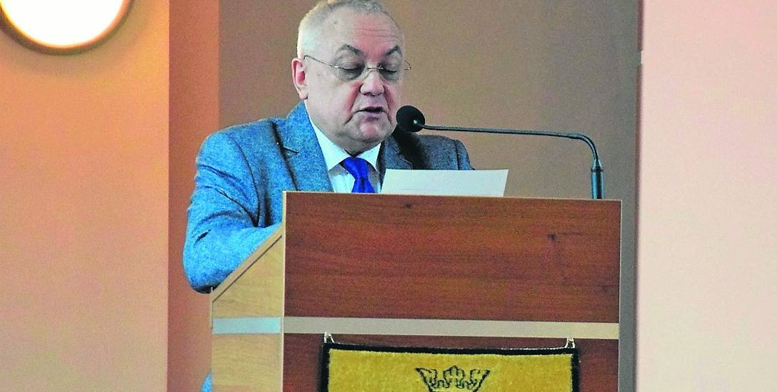 Podczas ostatniej sesji radny Jacek Olech informował o zamiarze powiadomienia prokuratury.
