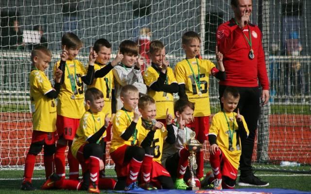 0e515e58b Akademia Piłkarska z Wilna wygrała turniej 9-latków w Poznaniu