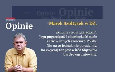 Szołtysek: Cudzy zajączek. Jego pogańskość i niemieckość może razić w innych częściach Polski. Nic na to jednak nie poradzimy