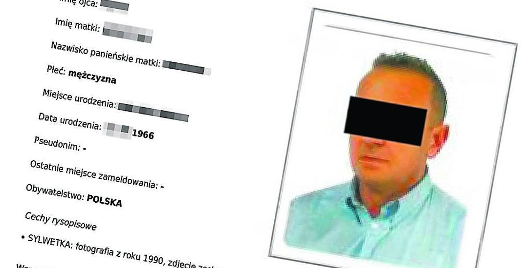 Fotografia i pełne dane osobowe Marka B. figurują na stronie internetowej policji. Co ciekawe, zdjęcie opublikowane przez funkcjonariuszy - jak sami