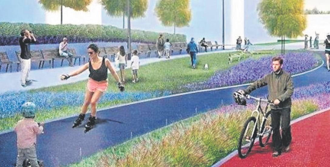 Miasto zapewnia, że na Promenadzie Zdrowia każdy znajdzie miejsce i atrakcje dla siebie