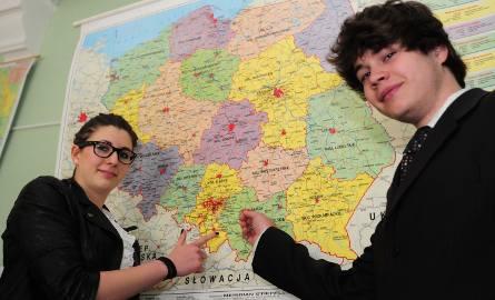 Karolina Kaptur i Marcin Dudziński z I LO wybrali geografię