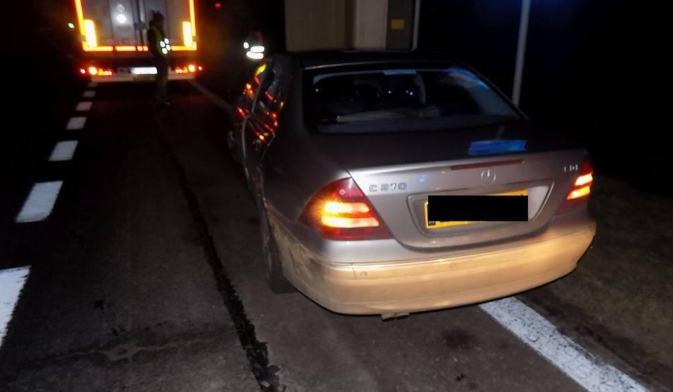 Film do artykułu: Markowice: Pijany kierowca zasnął za kierownicą na DK 1 i uderzył w ciężarówkę