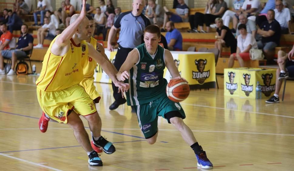 Film do artykułu: Koszykówka. Żubry i Tur wciąż niepokonane w drugiej lidze