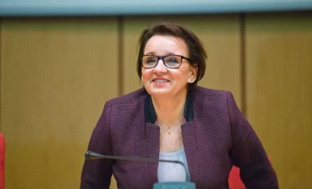 Minister Edukacji Narodowej Anna Zalewska w Białymstoku