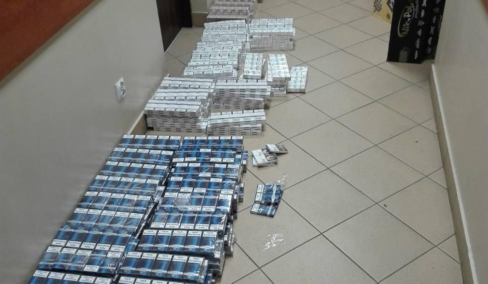 Film do artykułu: Policjanci z Końskich przejęli pokaźną ilość papierosów bez akcyzy