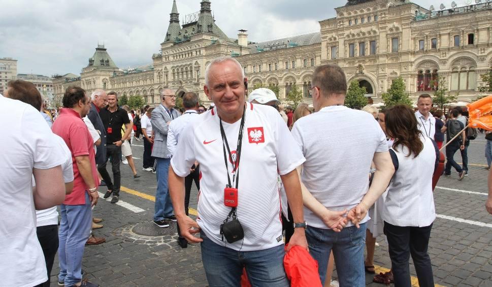 Film do artykułu: Prezes świętokrzyskiego związku Mirosław Malinowski i świta z Polskiego Związku Piłki Nożnej na Placu Czerwonym