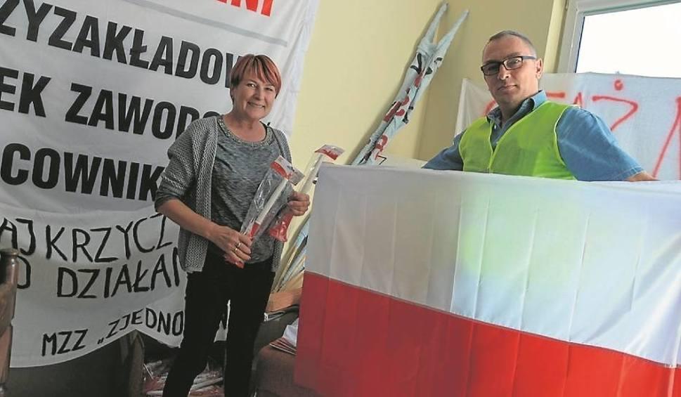 Film do artykułu: Pracownicy Elbestu z Bełchatowa protestowali w Warszawie