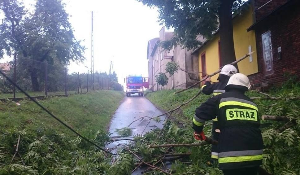 Film do artykułu: Burze w woj. śląskim. W weekend ponad 400 interwencji strażaków