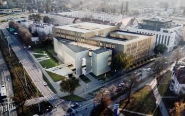 Tak miałby wyglądać nowy budynek sądu w Toruniu.