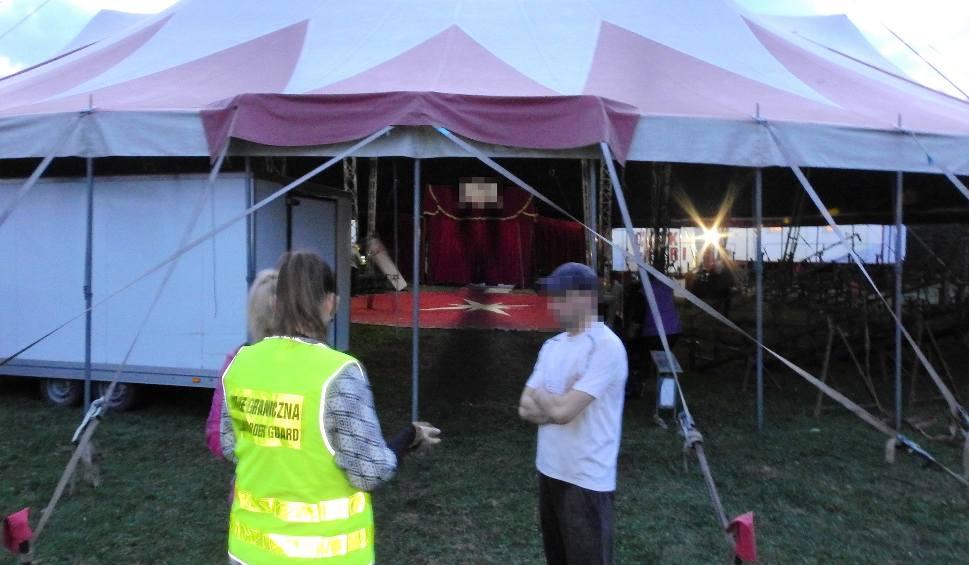 Film do artykułu: Dwaj Ukraińcy pracowali na czarno w cyrku w Ustrzykach Dolnych