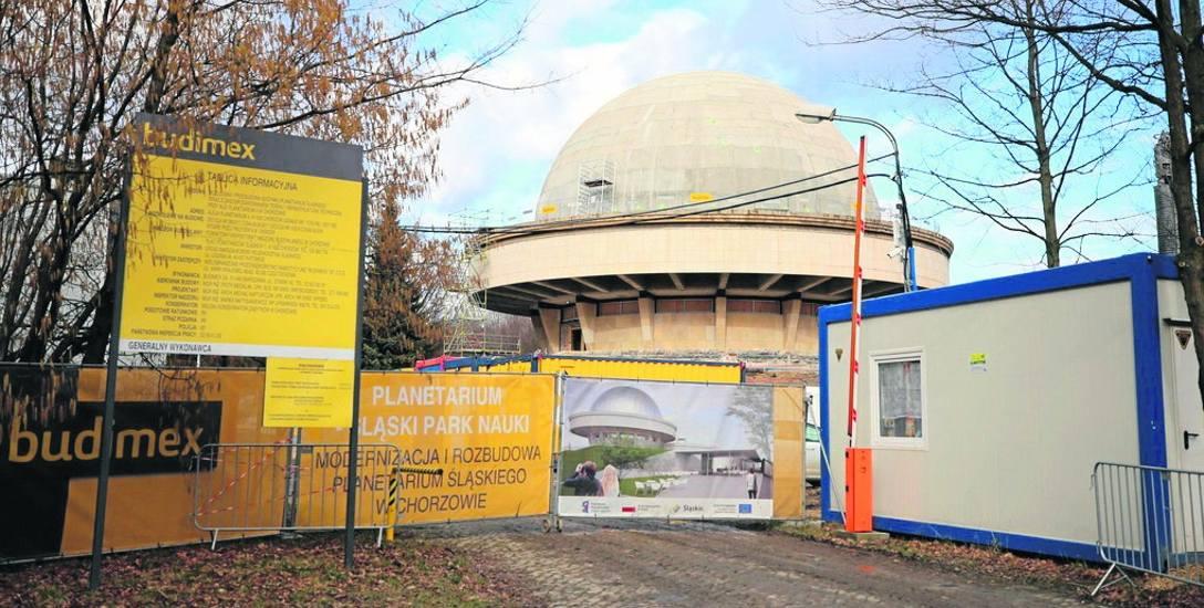 Głównym wykonawcą modernizacji i rozbudowy Planetarium Śląskiego jest firma Budimex
