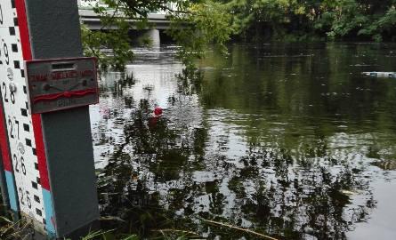 Wody w Drwęcy systematycznie przybywa.