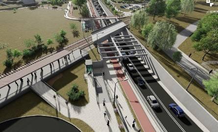 W projekcie węzła Grunwaldzka przy stacji kolejowej na Junikowie uwzględniono miejsce na pętlę tramwajową.