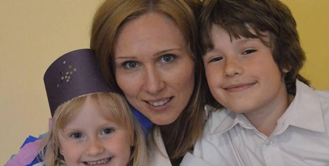 Izabela Dyakowska z dziećmi: Melisa i Jeremim. - Wszystko, co robię, robię myśląc o dzieciach i ich przyszłości.