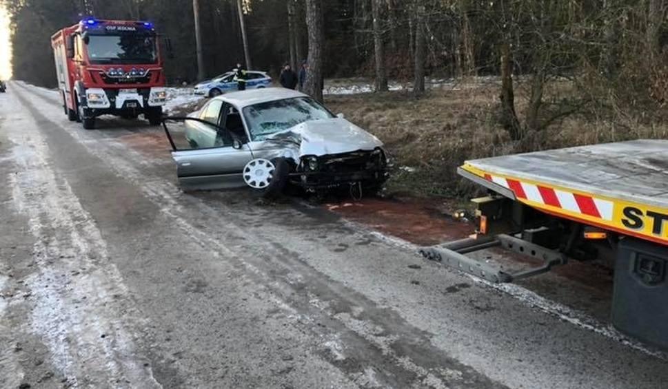 Film do artykułu: Śmiertelny wypadek pod Pionkami. Pijany kierowca i bez prawa jazdy uderzył w drzewo
