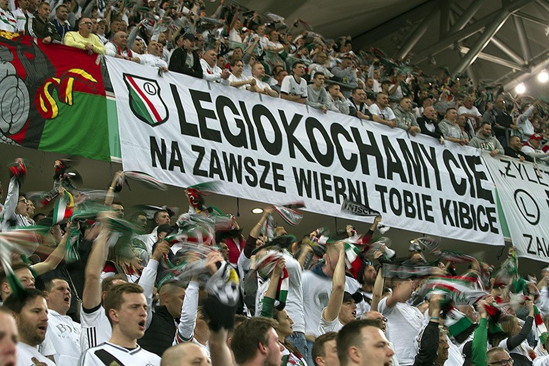 Fotorelacja z meczu Legia Warszawa - Cracovia 1:0 [KIBICE, GALERIA]