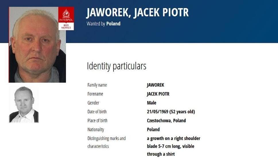 Film do artykułu: Zbrodnia w Borowcach. Za podejrzanym o zabójstwo Jackiem Jaworkiem wystawiono czerwoną notę Interpolu