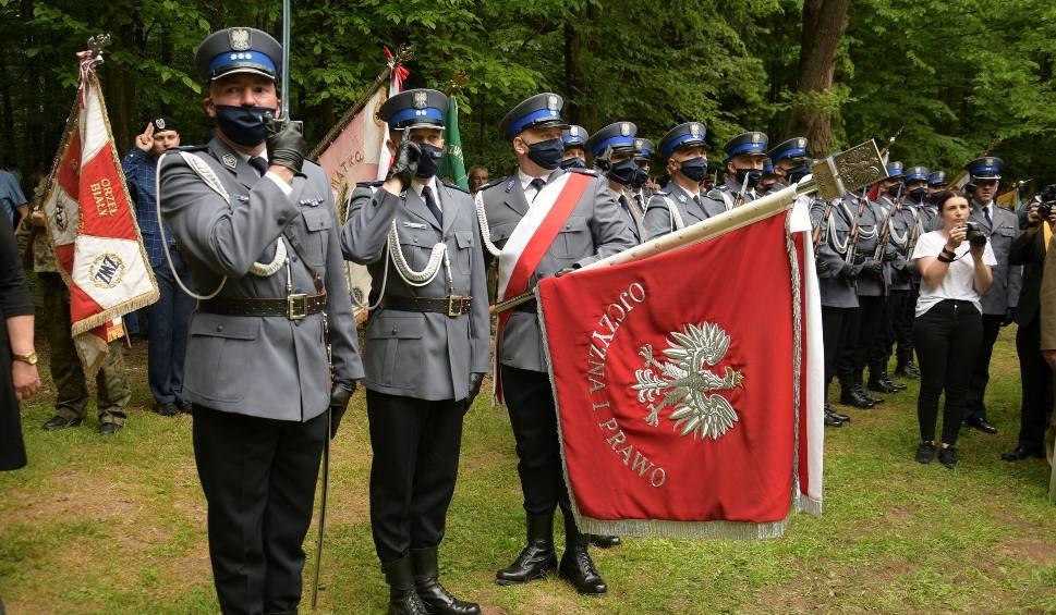 Film do artykułu: Uroczyste święto świętokrzyskiej policji na Wykusie. Odznaczono funkcjonariuszy [WIDEO, ZDJĘCIA]