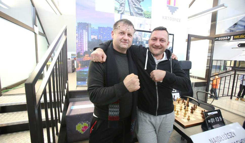 Film do artykułu: Mistrzostwa Europy w szachach szybkich w Katowicach: w Spodku padł rekord Guinnessa w maratonie szachowym ZDJĘCIA+WID
