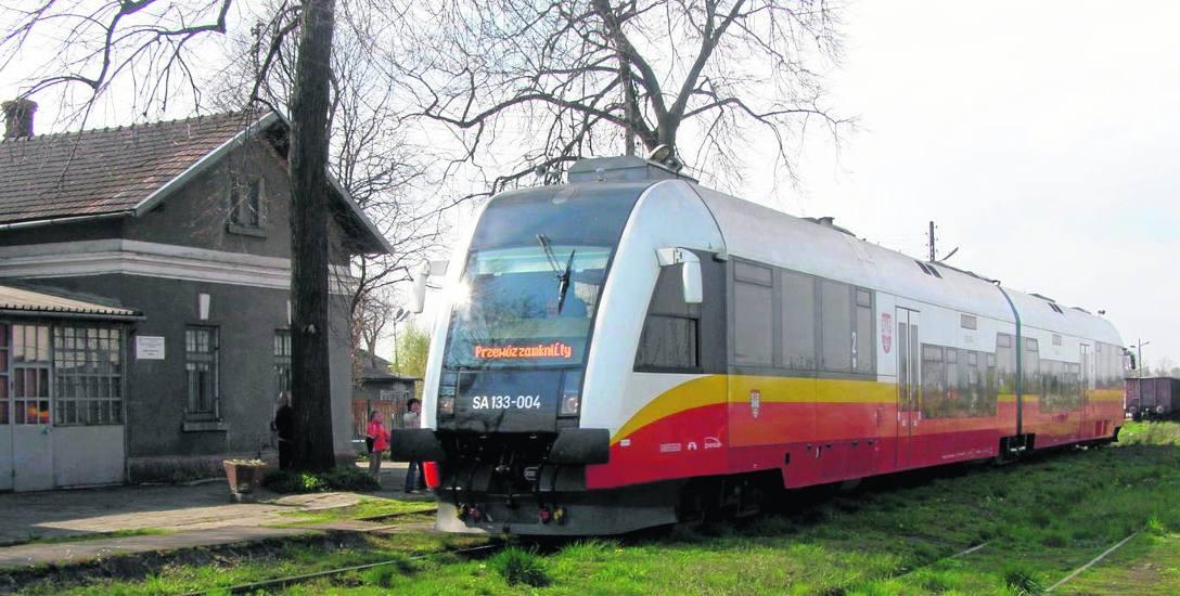 Taki obrazek powróci na kolejowy szlak z Tarnowa do Szczucina, jeśli rząd zdecyduje się na przedłużenie torów do Buska Zdroju