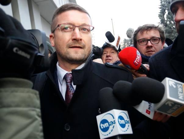 Sędzia Paweł Juszczyszyn był w Sejmie [ZDJĘCIA] Nie zapoznał się z listami poparcia do KRS