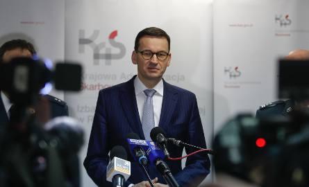 Mateusz Morawiecki z wizytą w Krajowej Administracji Skarbowej w Rzeszowie.