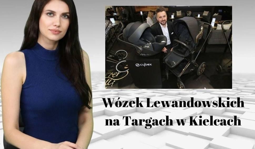 Film do artykułu: Wiadomości Echa Dnia. Wózek Lewandowskich na Targach w Kielcach