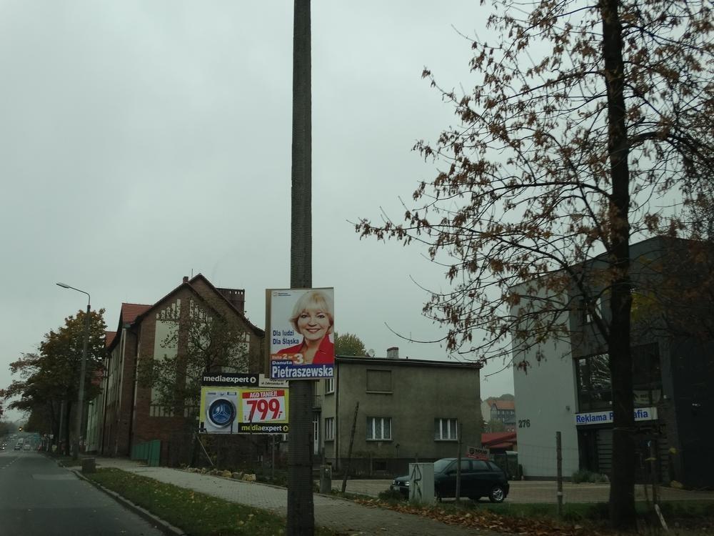 Ruda śląska Plakaty Wyborcze W Całym Mieście Niektóre Już
