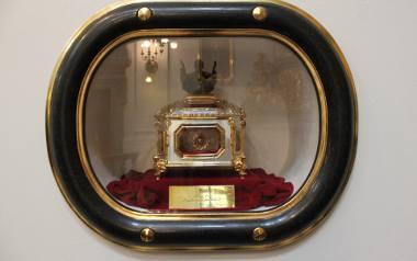 Relikwie Jana Pawła II z bazyliki w Starej Wsi