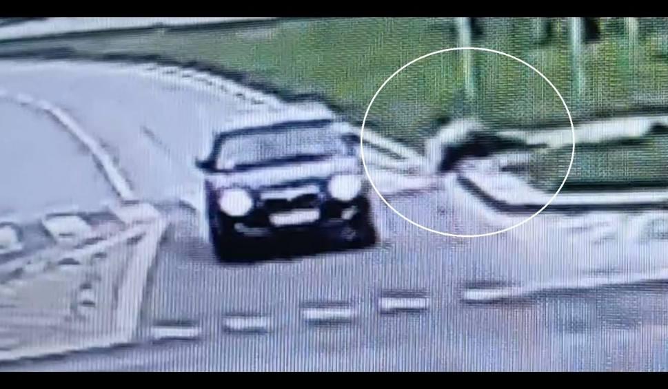 Film do artykułu: Świdnik: Potrącił rowerzystę i uciekł z miejsca zdarzenia. Jest już w rękach policji. Zobacz wideo