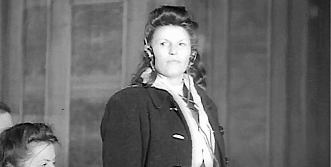 Hildegarda Lächert przed krakowskim trybunałem