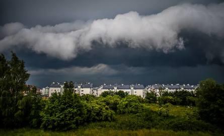 Takie chmury zwiastują nadejście potężnej nawałnicy