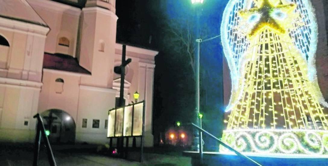Pierwsza świąteczna iluminacja