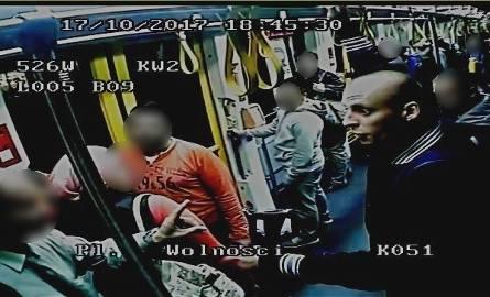 Poznańska policja szuka tego człowieka. Do ataku w tramwaju doszło we wtorek