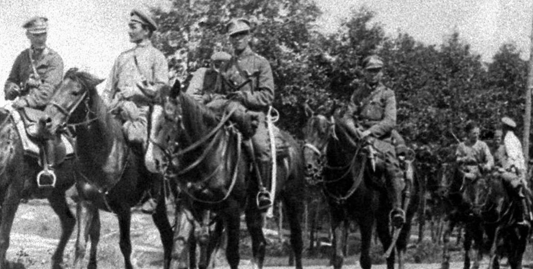 Oddział polskiej kawalerii podczas Bitwy Warszawskiej