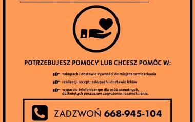Koronawirus. W Starachowicach będzie dodatkowa pomoc dla osób starszych i niesamodzielnych. Rusza wolontariat