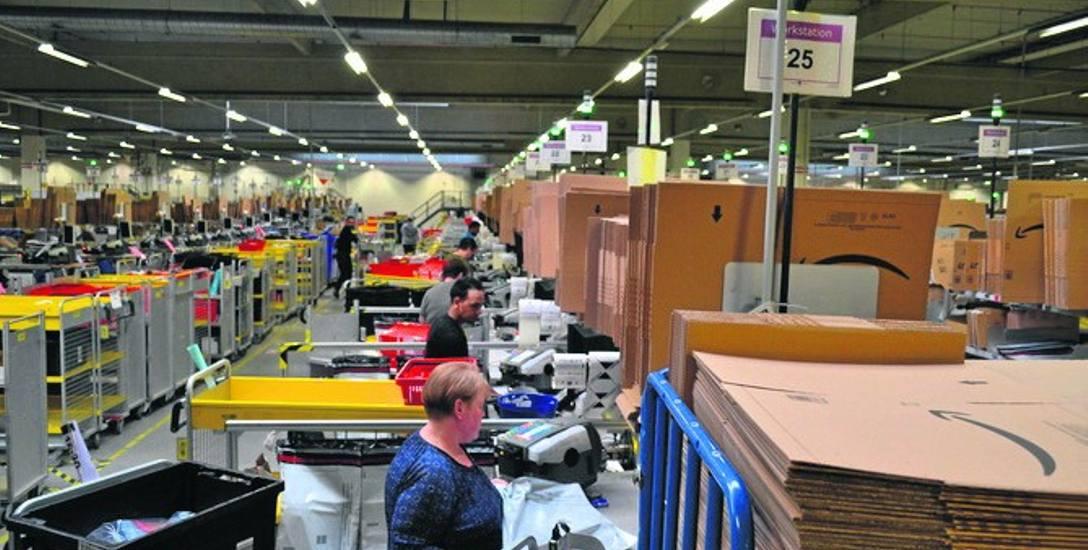 Jedno z największych centrów magazynowych Amazona znajduje się w niemieckim Bad Hersfled w Hesji