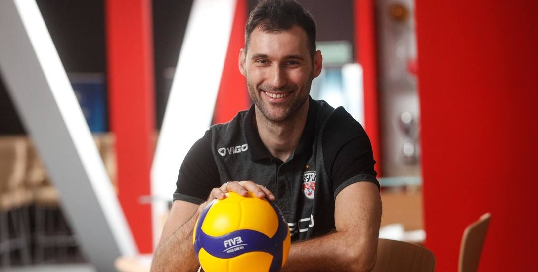 Grzegorz Kosok, nowy-stary siatkarz Asseco Resovii: Z radością wracam do Rzeszowa, tu odnosiłem największe sukcesy