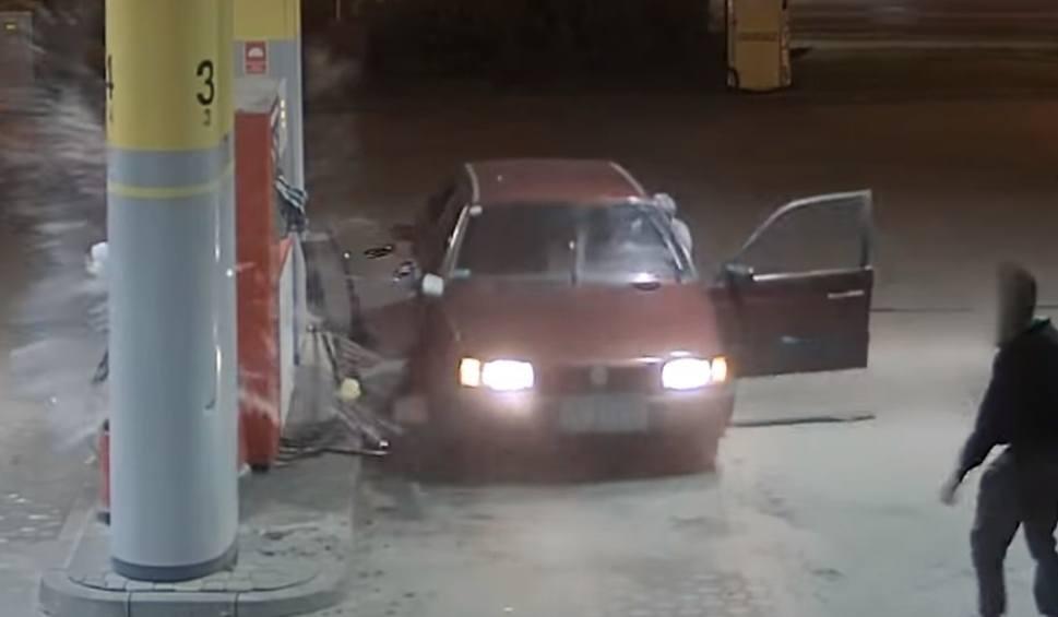 Film do artykułu: Chcieli ukraść paliwo na stacji paliw w Bąkowie. Zniszczyli dystrybutor i samochód [WIDEO]
