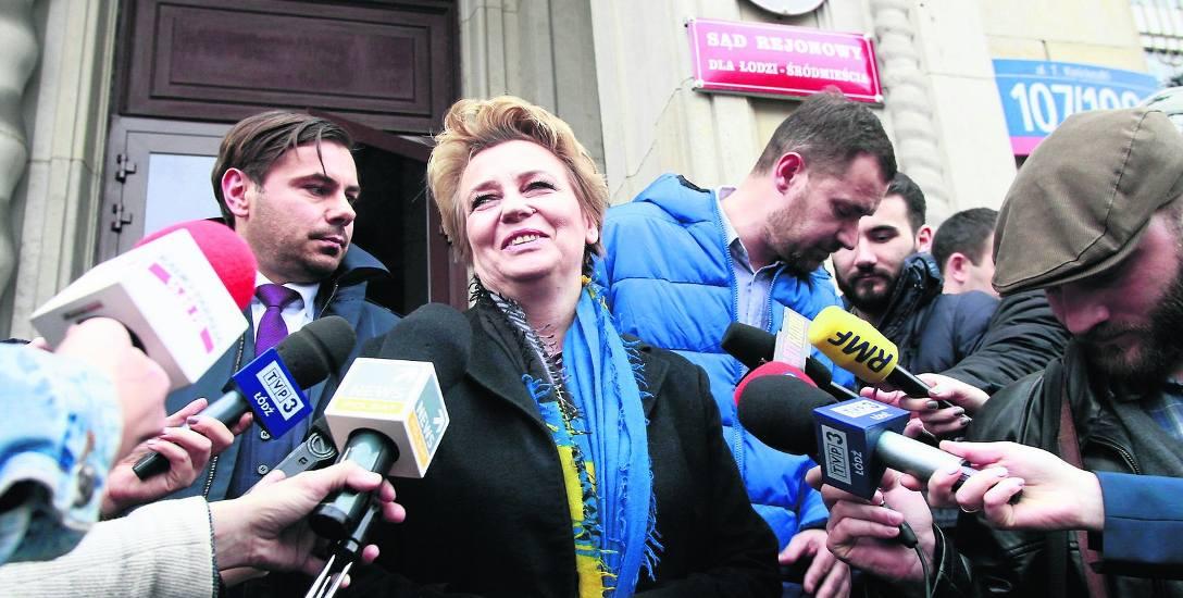 Hanna Zdanowska jest w polityce od 12 lat.
