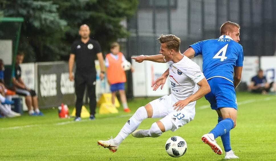 Film do artykułu: Piłka nożna | Fortuna 1 Liga. Arka Gdynia testuje Maksymiliana Banaszewskiego ze Stali Mielec