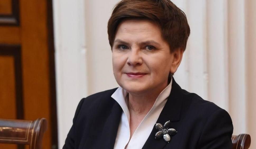 Film do artykułu: Beata Szydło, wicepremier, gościła we Włostowie. Przyszło 300 osób