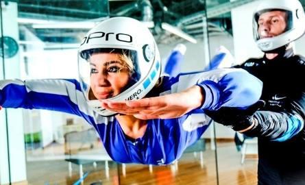 Najwięcej w Wielkopolsce uzyskała aukcja, której zwycięzca mógł godzinę latać w tunelu aerodynamicznym w Lesznie