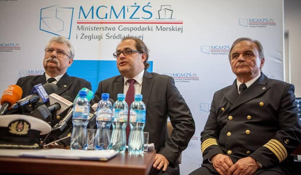Film do artykułu: Minister Marek Gróbarczyk przyjedzie na spotkanie z ustczanami