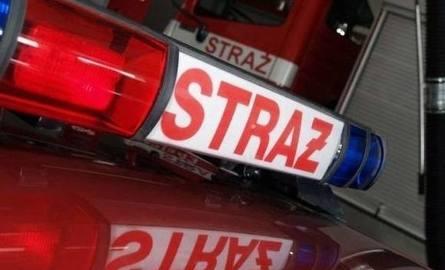 Kombajn w płomieniach w miejscowości Rudniki! Ogień trawił także zboże
