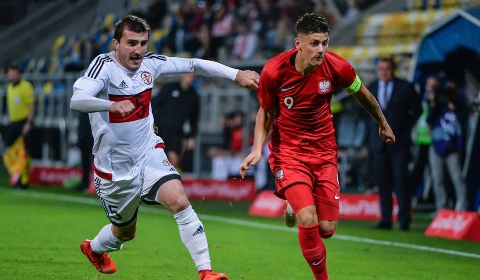 Film do artykułu: Polska nadal w grze. Podopieczni Michniewicza zwyciężyli z Gruzją