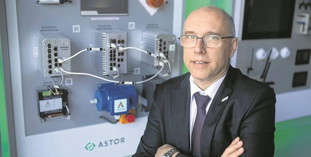Stefan Życzkowski, współzałożyciel krakowskiej firmy ASTOR