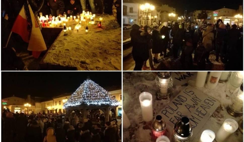 Film do artykułu: Chełm solidarny z Gdańskiem. Marsz przeciw nienawiści i agresji (ZDJĘCIA)