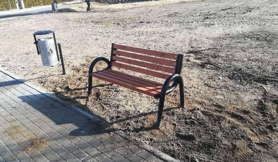 Film do artykułu: Kradzieże w Ińsku. Wyrwali publiczną ławkę i postawili u siebie